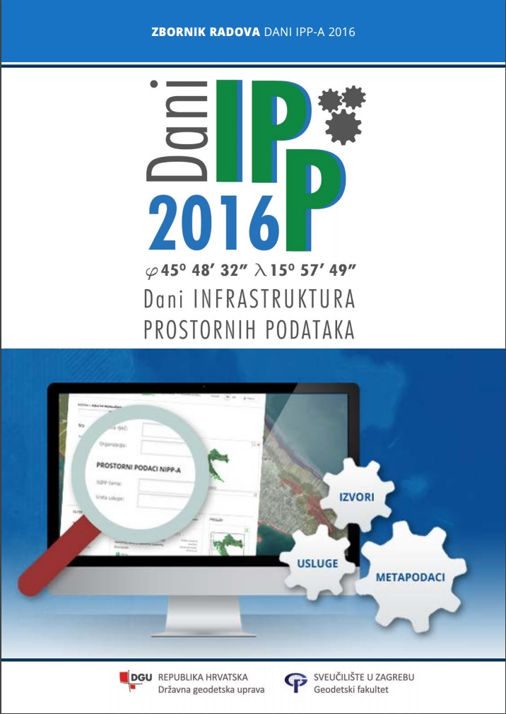 The picture shows the title page of the Proceedings of the SDI Days 2016.