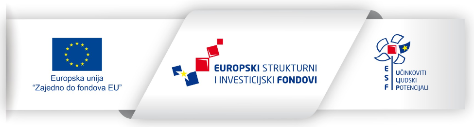 The picture shows the ribbon of the European Social Fund with the logo of the European Union, the European Structural and Investment Funds and the European Social Fund.