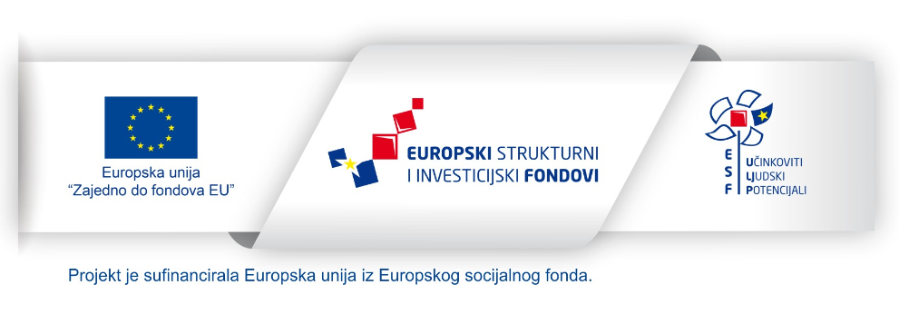 The picture shows the ribbon of the European Social Fund with the logo of the European Union, the European Structural and Investment Funds, and the European Social Fund.