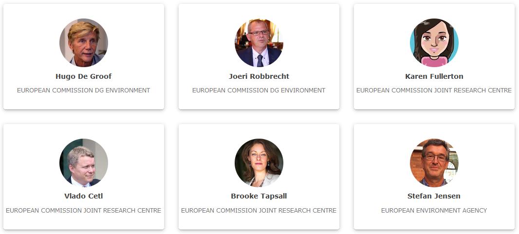 Slika prikazuje organizatore konferencije INSPIRE 2021